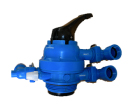 Multi Port Valve, Multiport Valve, Water Treatment Plant Components, High Tech Components, 20 NB MPV, Mumbai, India